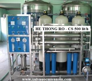 He thong RO 500L-h