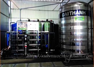 Dây chuyền lọc nước đóng bình