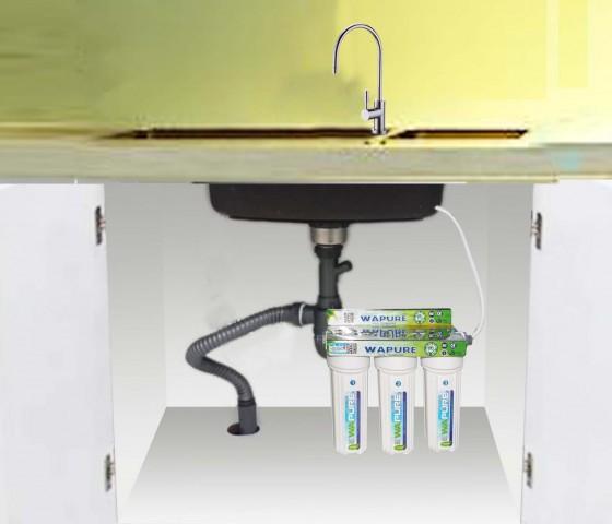 Vị trí lắp đặt Máy lọc nước  Nano Wapure WN317