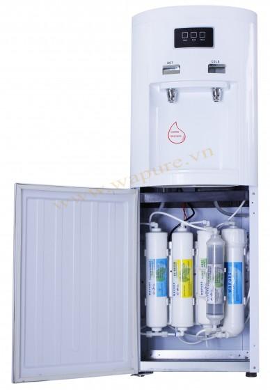 Máy lọc nước Wapure RO nóng lạnh gia đình 05 cấp WL301