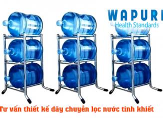 Chất lượng sản phẩm là điều các cơ sở sản xuất cần quan tâm khi đầu tư dây chuyền lọc nước