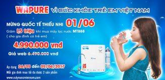 Khuyến mãi tặng 1,5tr khi mua máy lọc nước Nano MT888