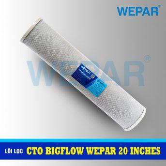 lõi lọc cto bigflow wepar 20 inch