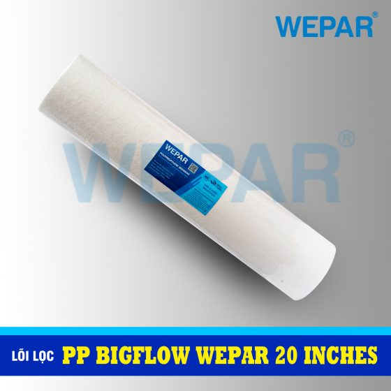 lõi lọc pp bigflow 20 inch wepar