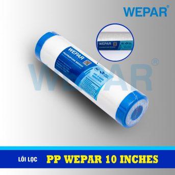lõi lọc PP 10 inch 2 đầu nắp WEPAR