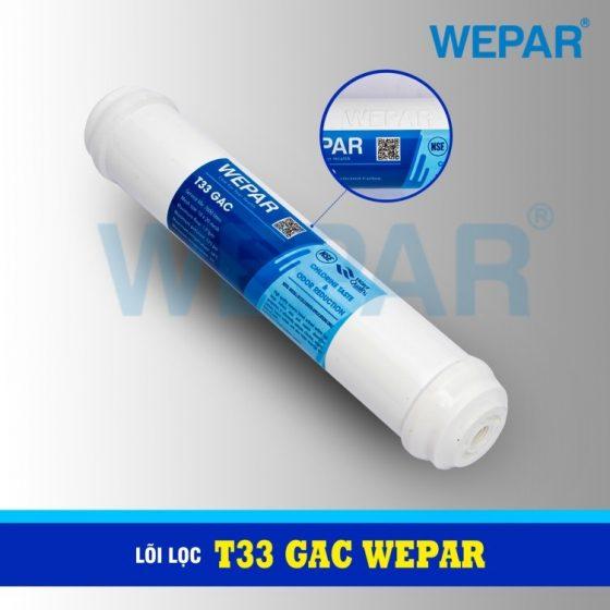 lõi lọc T33 GAC Wepar