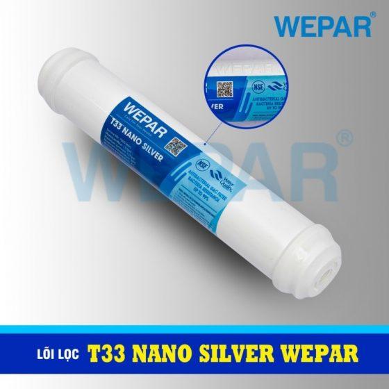 lõi lọc T33 Nano Silver Wepar
