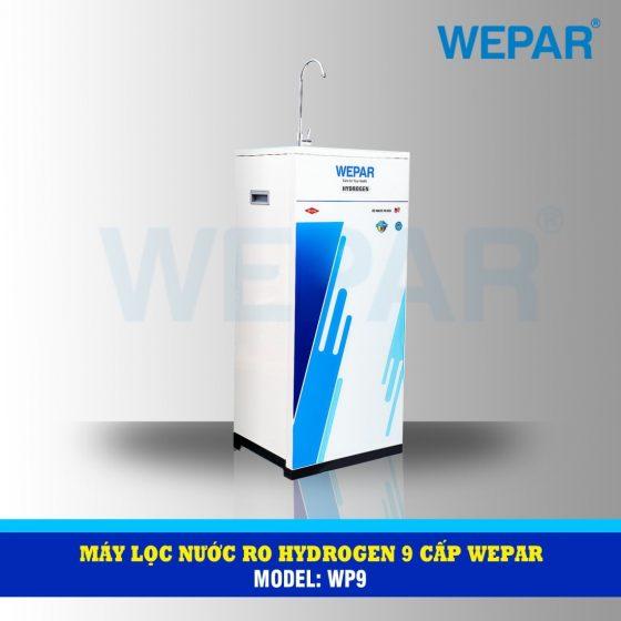 máy lọc nước RO hydrogen 9 cấp wepar