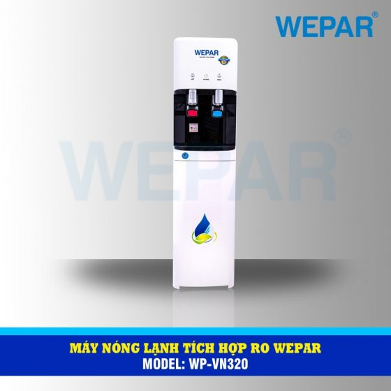 máy lọc nước nóng lạnh tích hợp RO 6 wepar