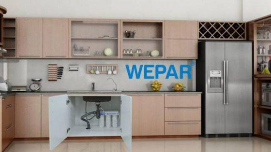 kỹ thuật và cách lắp máy lọc nước vào tủ bếp