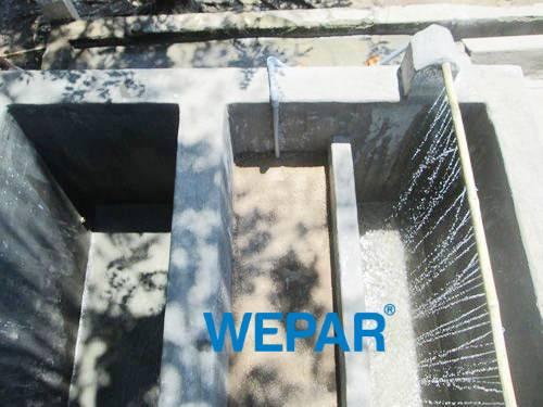 xây bể lọc nước giếng bị nhiễm phèn