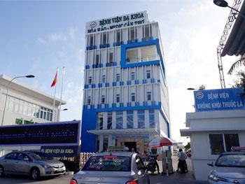 Dự án lọc nước tại bệnh viện Hoà Hảo