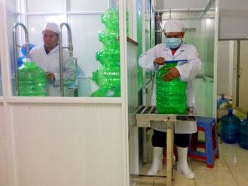 Hệ thống lọc nước uống đóng bình đóng chai tại Đồng Tháp